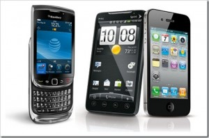 blackberry vs android vs iphone 300x198 4 Entrepreneur Lessons Revealed of Blackberry / RIM's Downfall